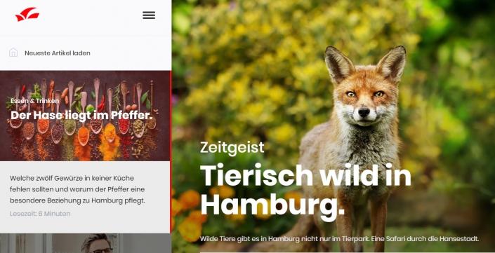 Artikel aus Hamburg für Hamburgerinnen und Hamburger.